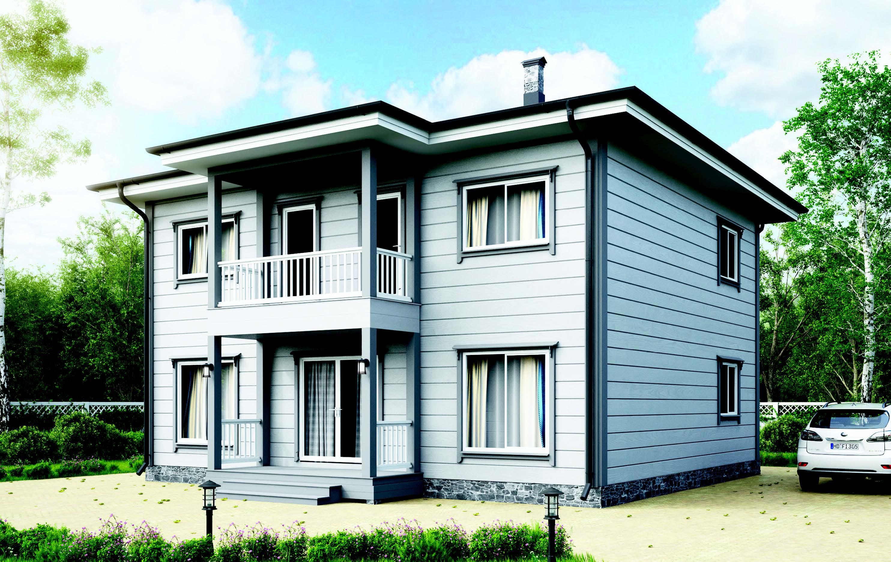 Finnlog Blockhaus Atum
