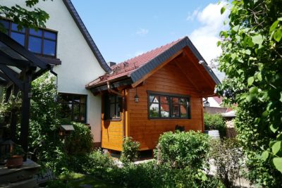 Anbau Holzhaus an Massivhaus